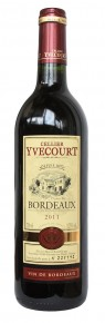 Cellier Yvecourt Bordeaux rouge 2011