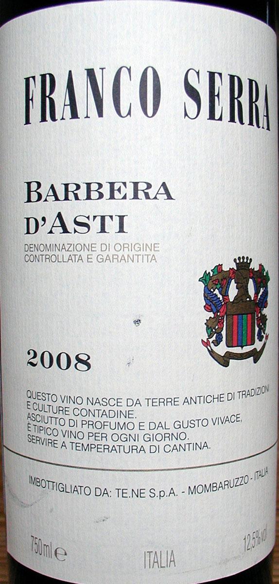 Franco Serra Barbera d`Asti 2 9 - Find-Wine ru - Вино