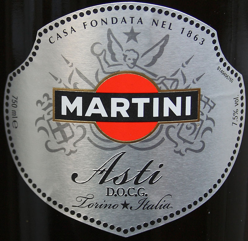 Этикетка мартини своими руками