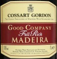 Cossart Gordon Good Company Full Rich Madeira этикетка