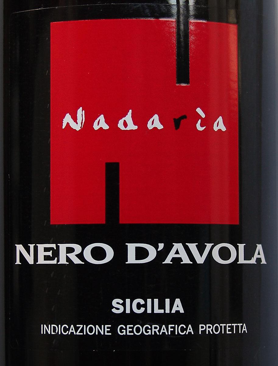 Nadaria Nero D Avola Wine