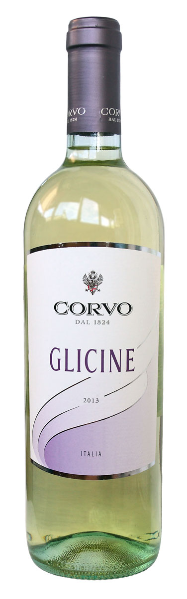 Картинка с вином глицин