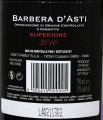 Canti Estate Barbera d'Asti Superiore контрэтикетка